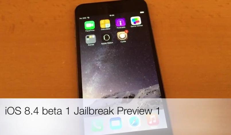 iOS 8.4 beta 1 jailbreak