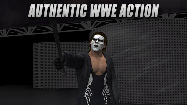 WWE 2K simulator video game