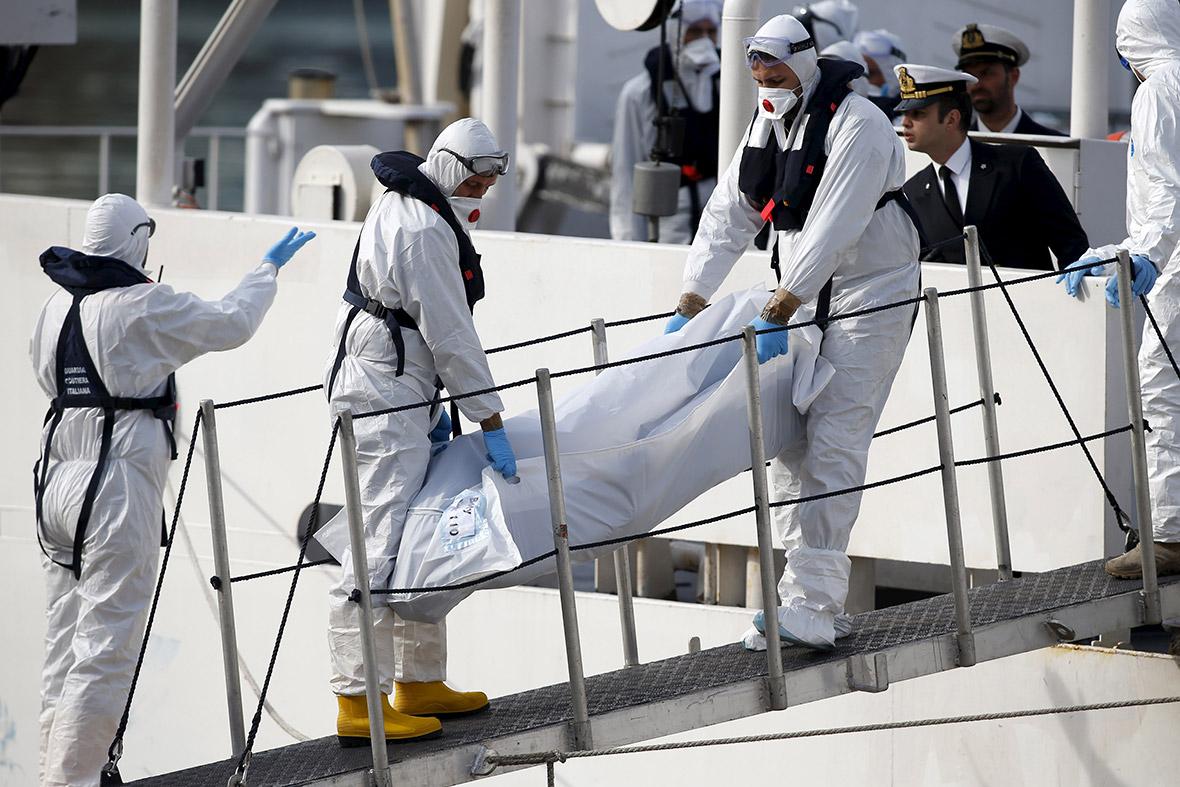 migrants dead Italy