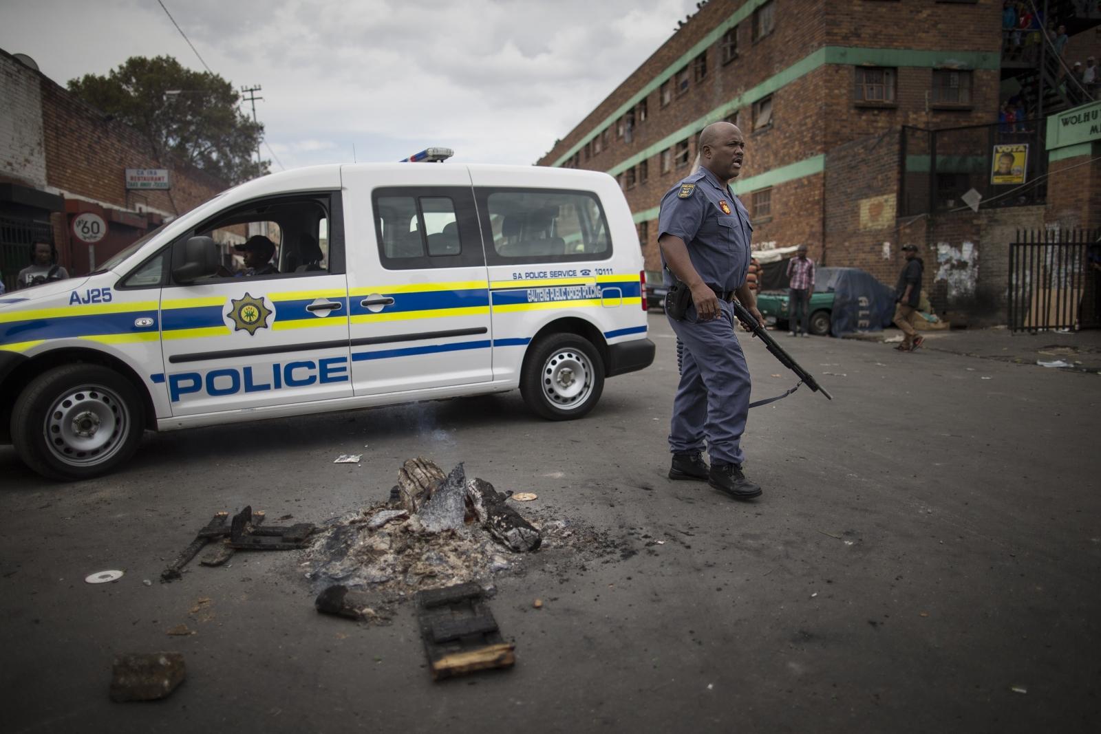 Johannesburg township police