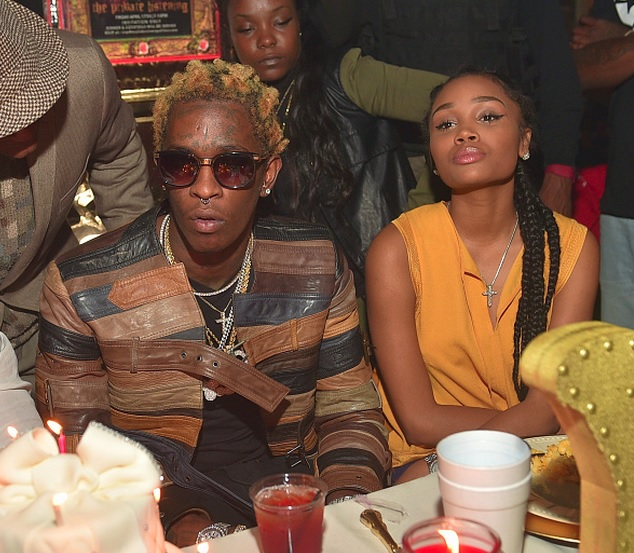 Aspiring Pop Star 20 And Her Two Year Old Daughter: Did Rapper Young Thug Propose To Girlfriend Jerrika Karlae