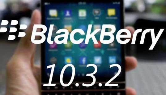 BlackBerry OS 10.3.2