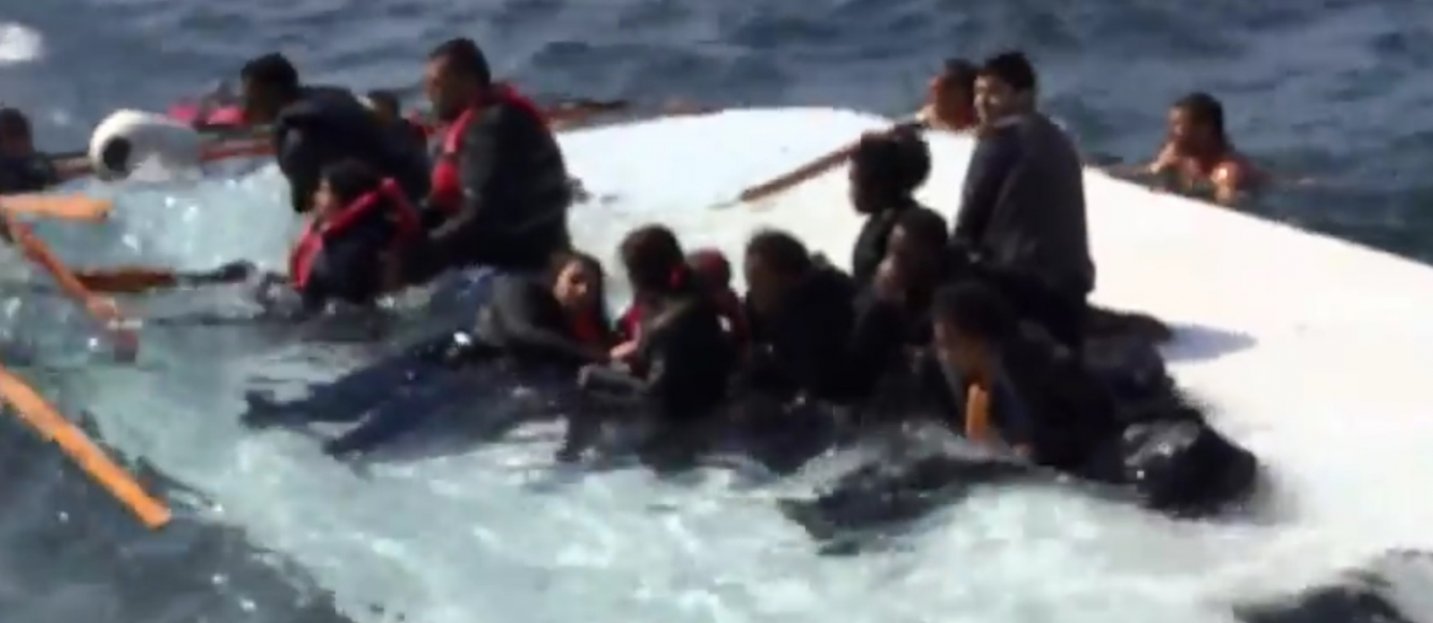Rhodes MIgrant boat shipwreck