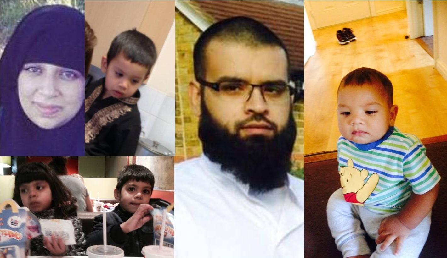 Missing Slough family
