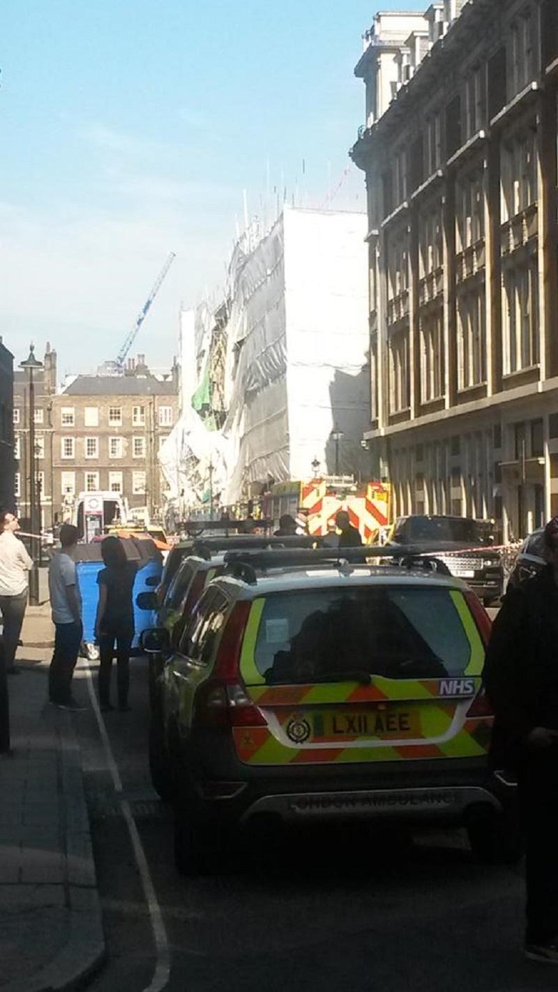 LSE building collapses