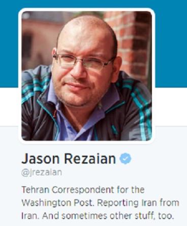 Jason Rezaian who is held in Iran