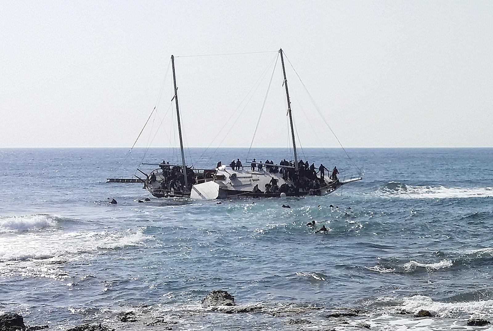 Mediterranean boa tragedy