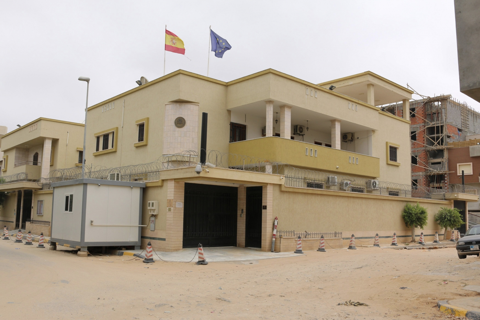 ISIS bombs Spain's Embassy Libya