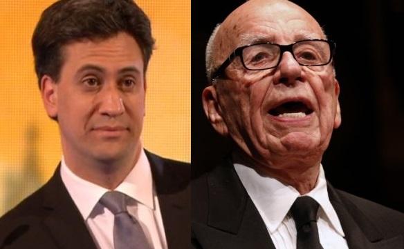 Miliband Murdoch