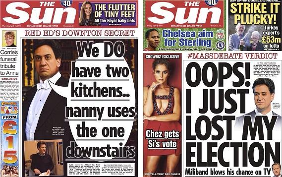 Miliband The Sun