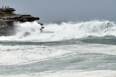 Sydney storm bondi beach