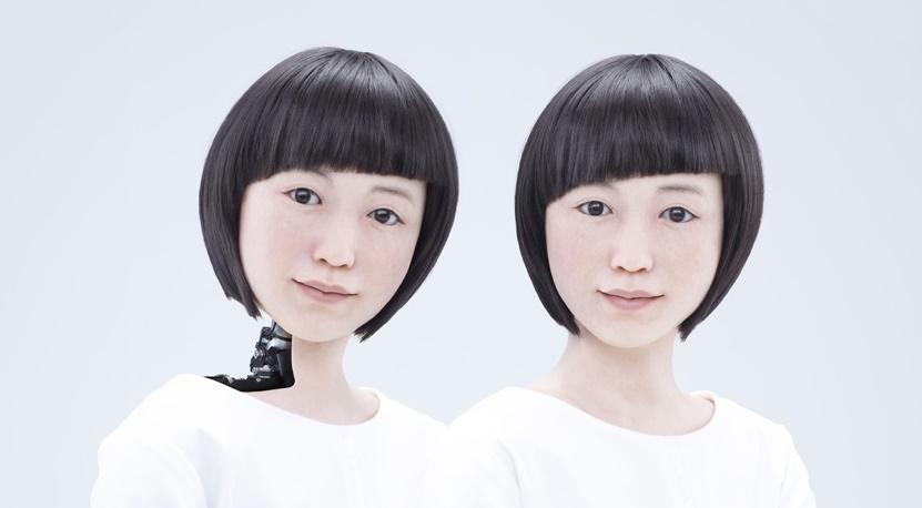 robot humanoid hiroshi ishiguro robotics