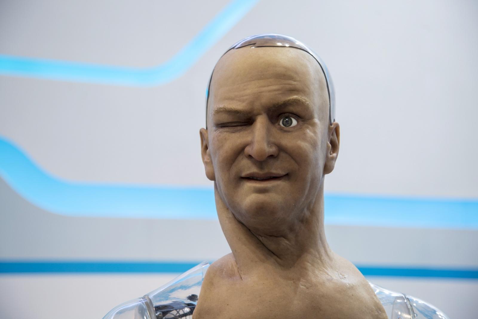 Han the humanoid robot
