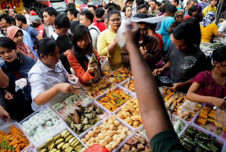 Street Vendor in Jakarta, Indonesia
