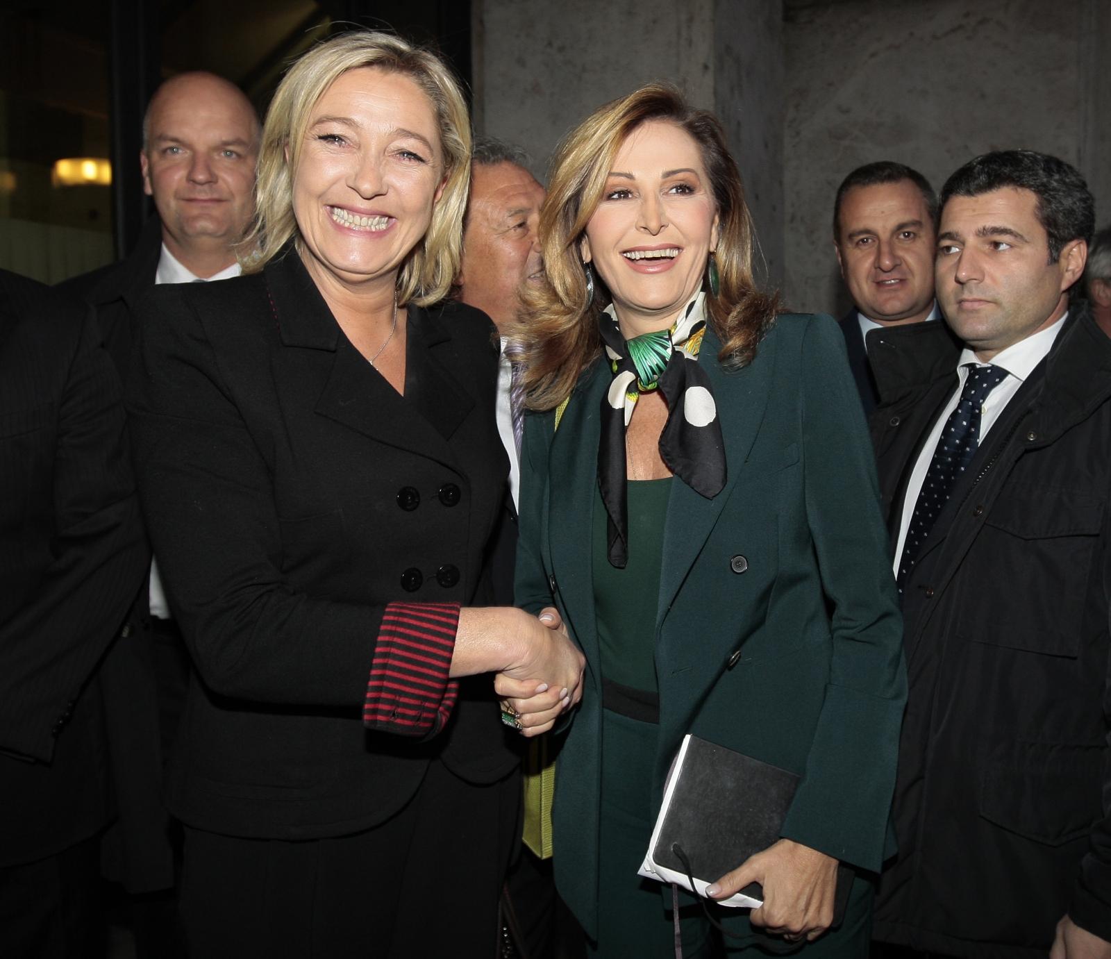 Daniela Santanché Marine Le Pen