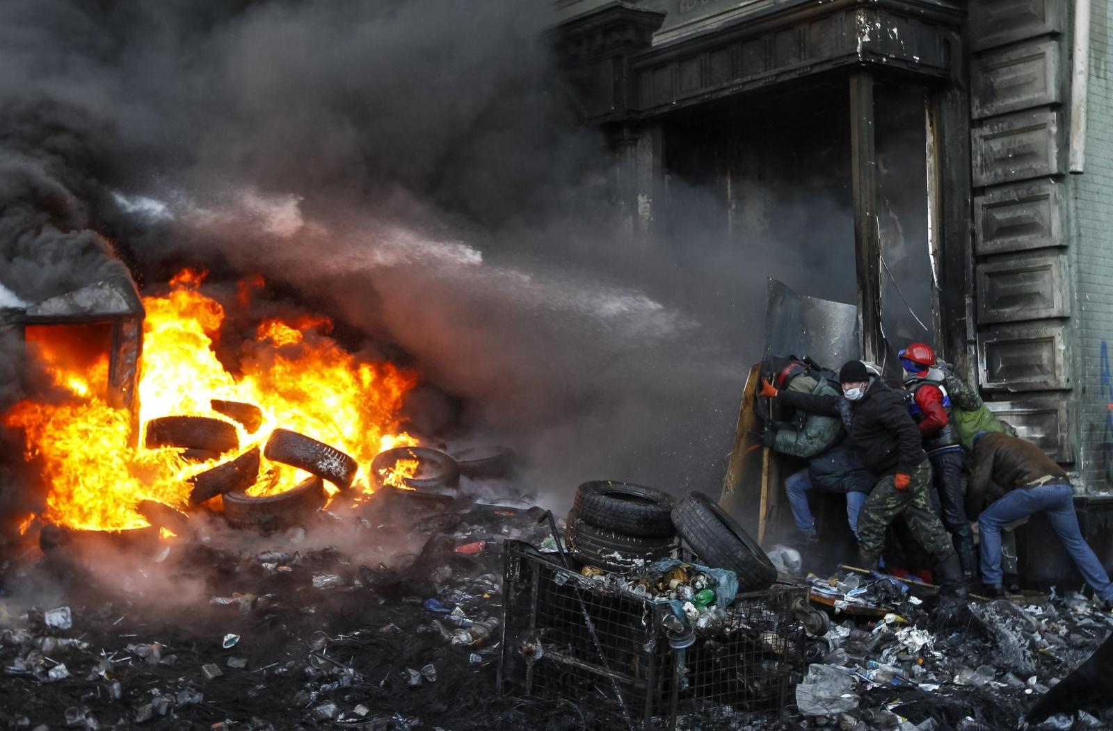 Kiev protests violence