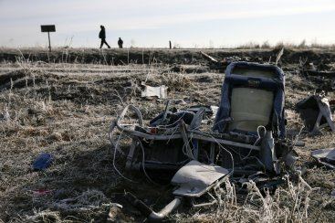 MH17 Wreckage Ukraine
