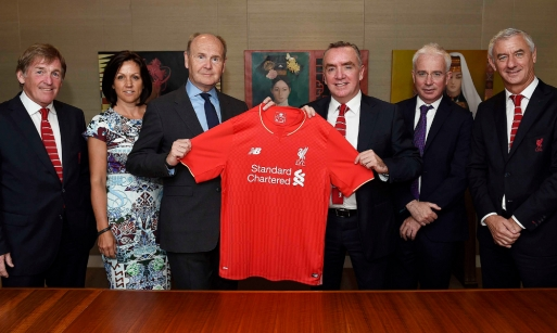 Standard Chartered extends deal with Liverpool