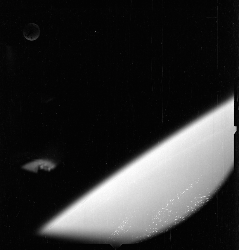 UFO spotted in NASA mercury mission picture
