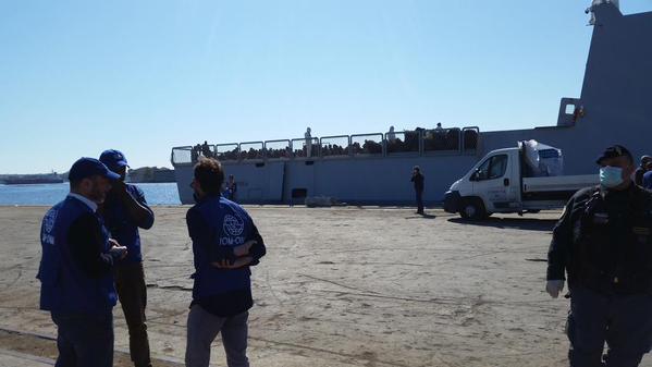 Mediterranean Migrants Boat