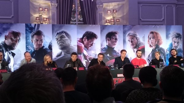 Avengers: Age Of Ultron Press Conference