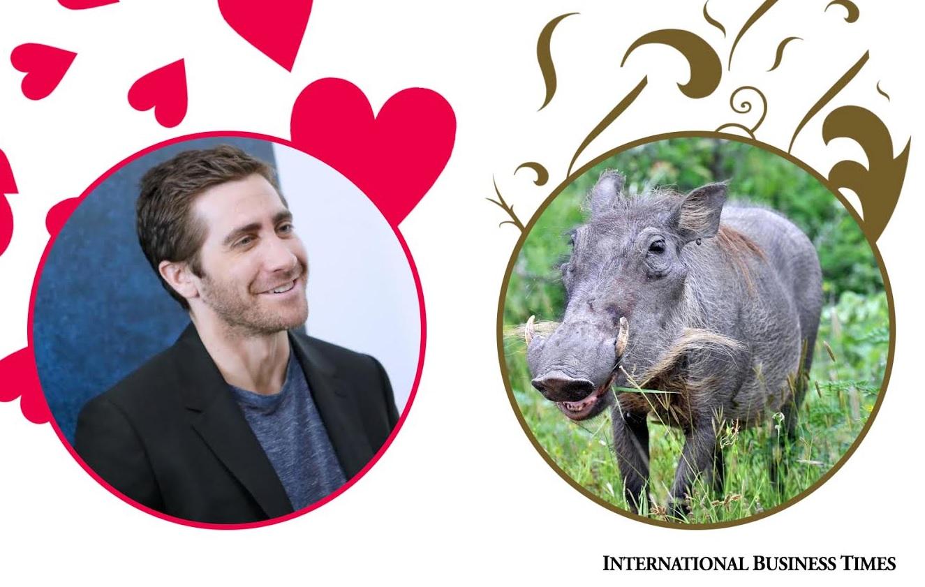 Jake and warthog