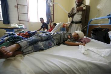 Yemen hospital shortage