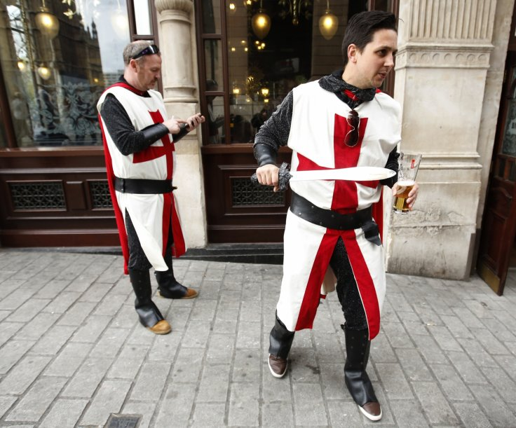 St George England nationality