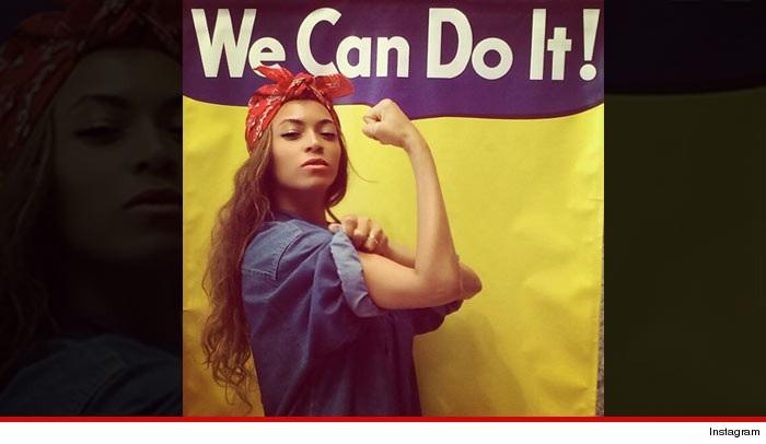 Beyonce as Rosie the Riveter