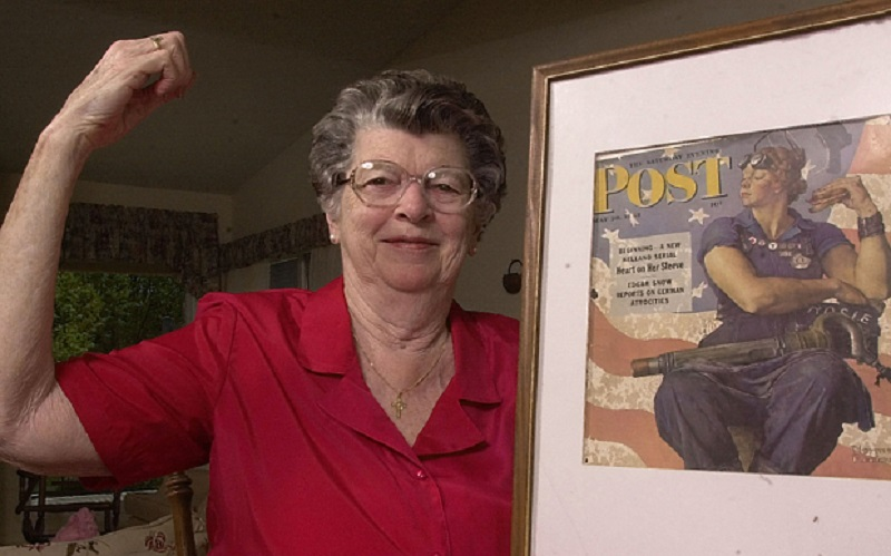 Rosie the Riveter (Mary Doyle Keefe)