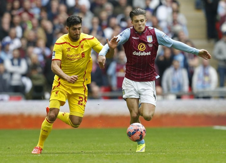 Aston Villa's Jack Grealish