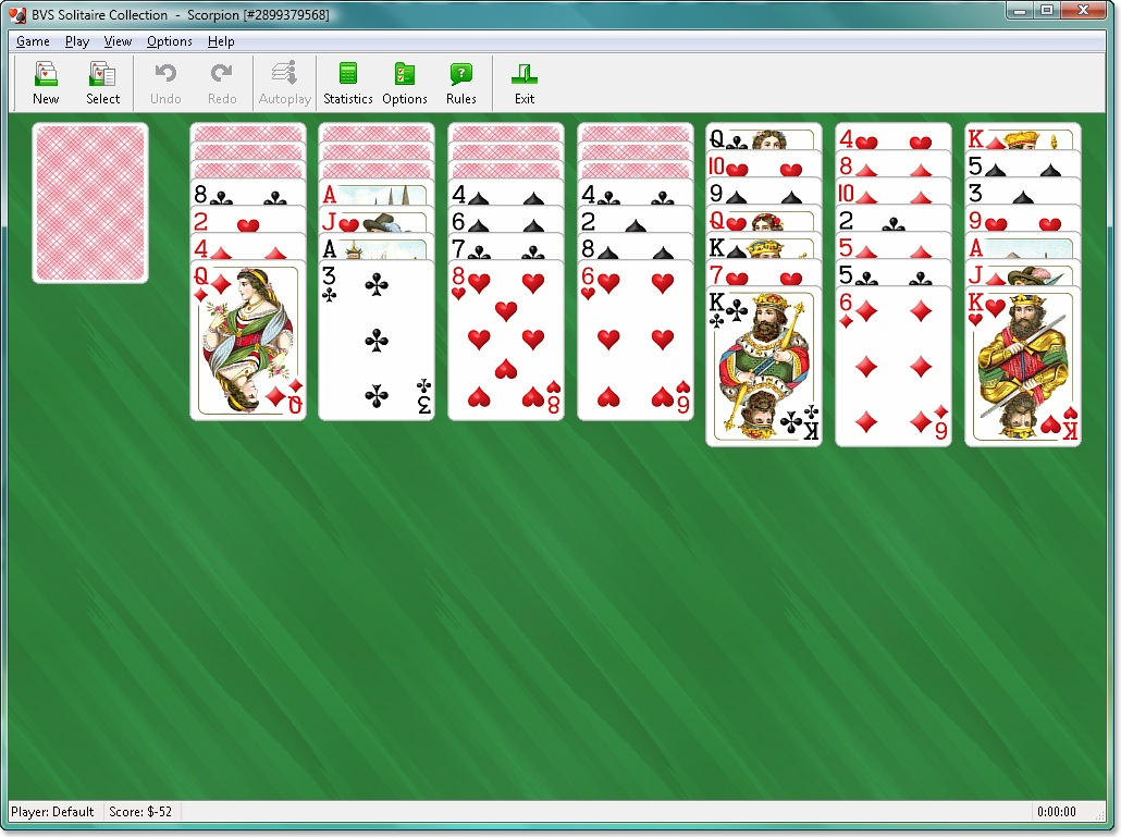 Windows 10 Build 10061 Solitaire