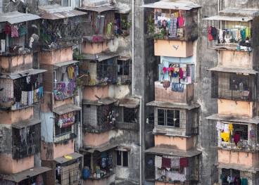 Mumbai Dharavi Slum India