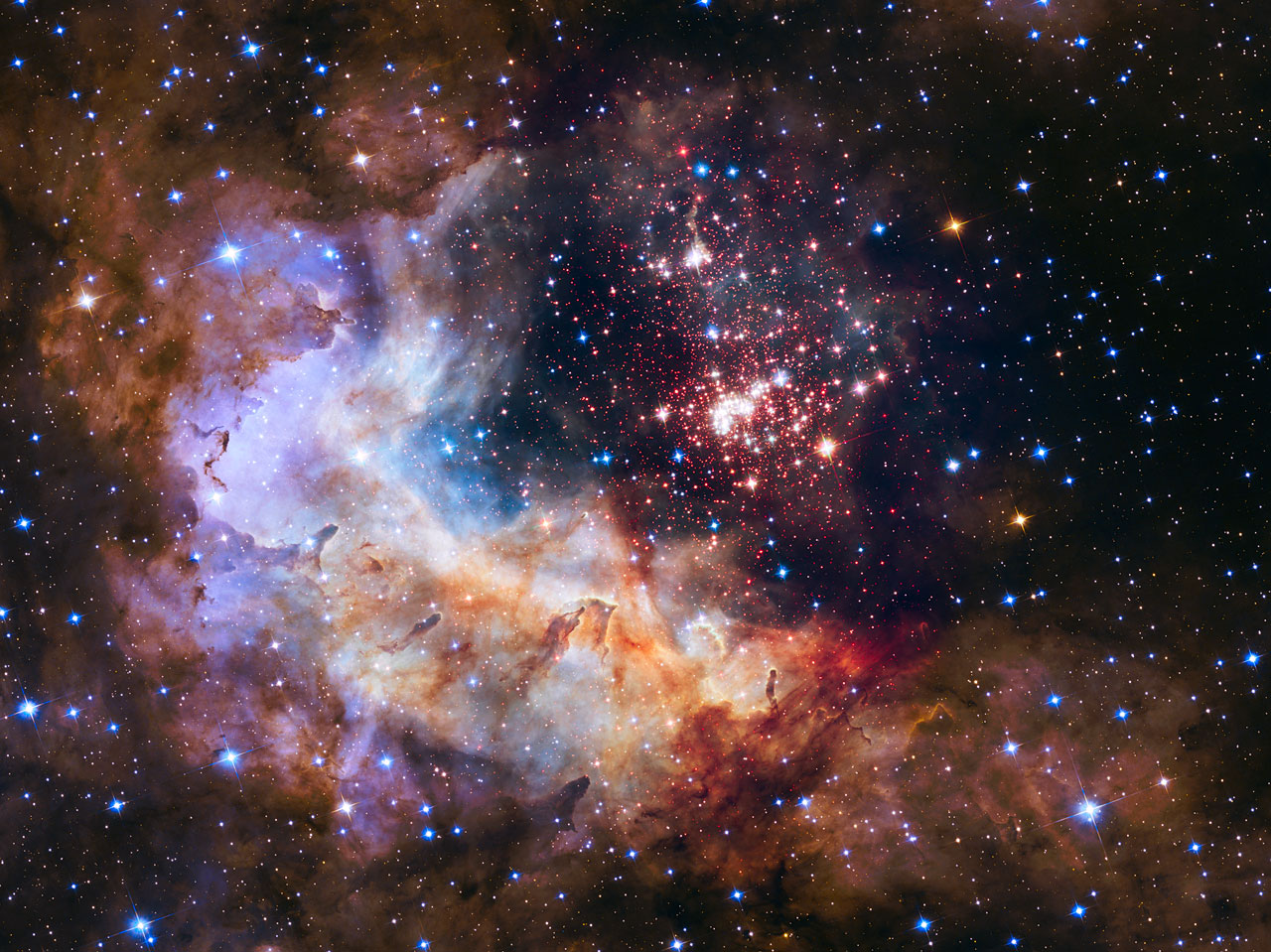 hubble 25th anniversary image