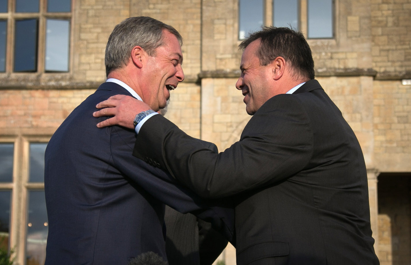 Farage and Banks