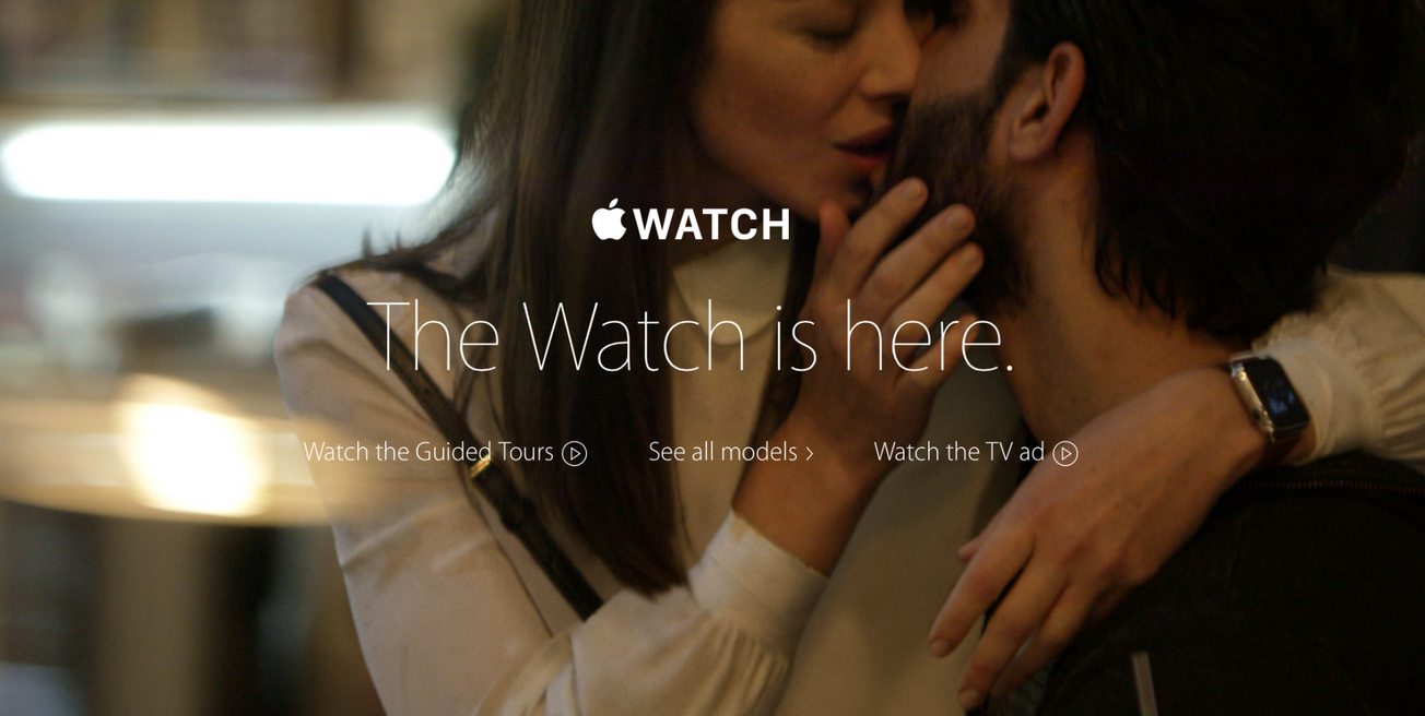 Apple Watch is Here