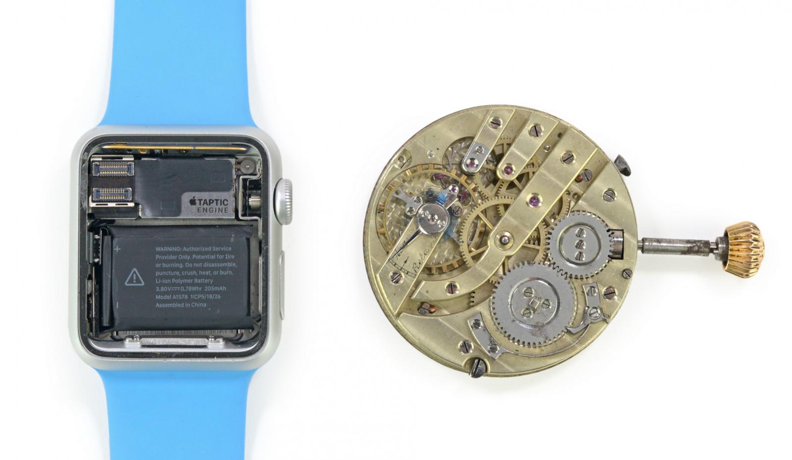 Apple Watch vs Pocket Watch