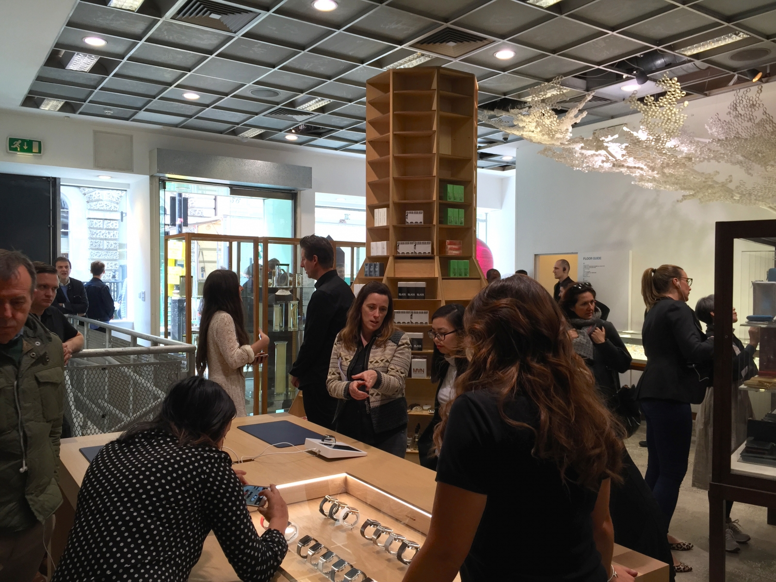 Apple Watch in Dover Street Market