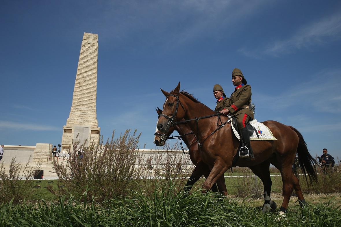 Gallipoli 100th anniversary