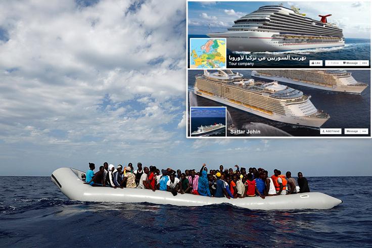Image overlay - Migrants