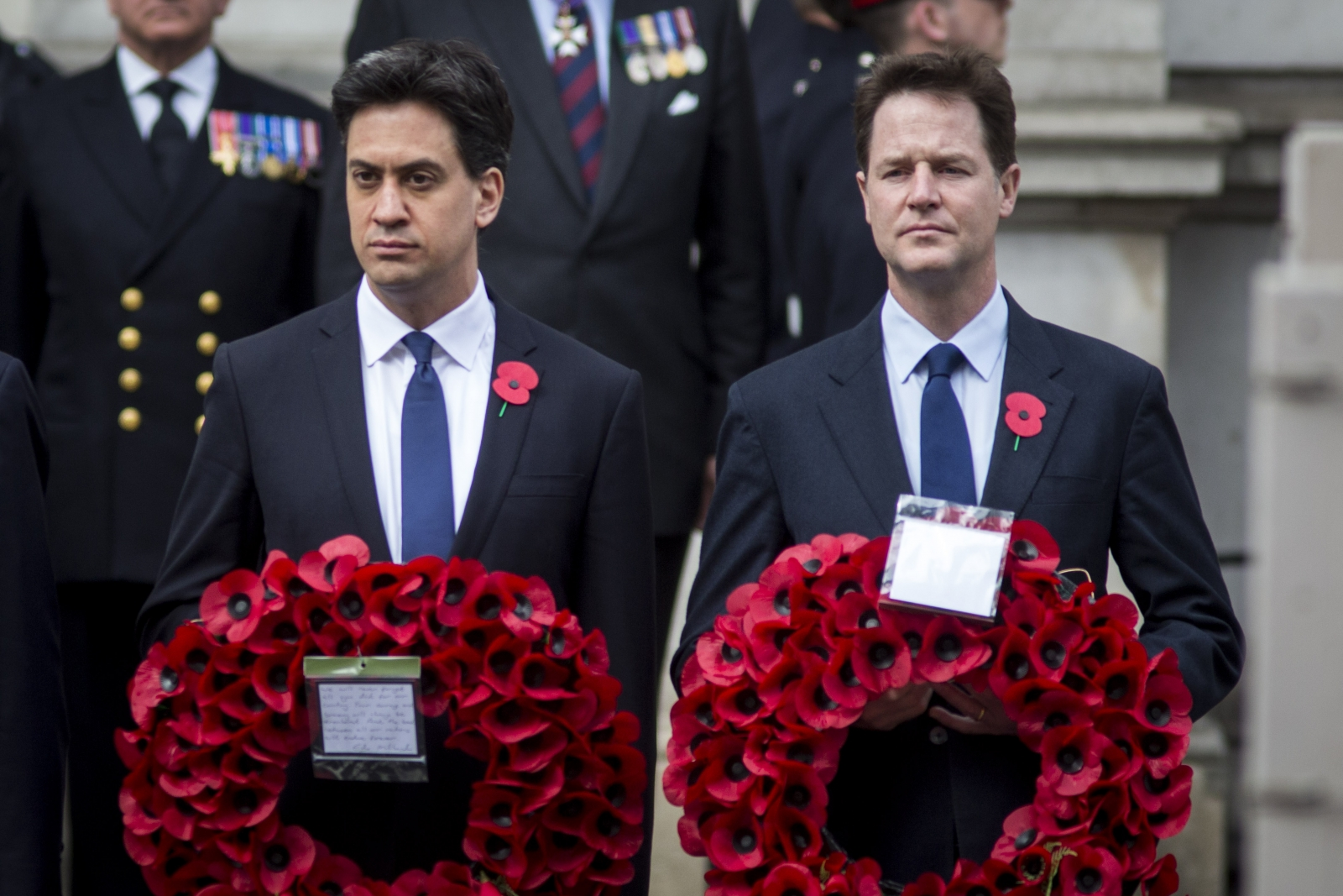 Ed Miliband Nick Clegg Gallipoli