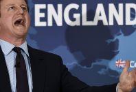 David Cameron scream
