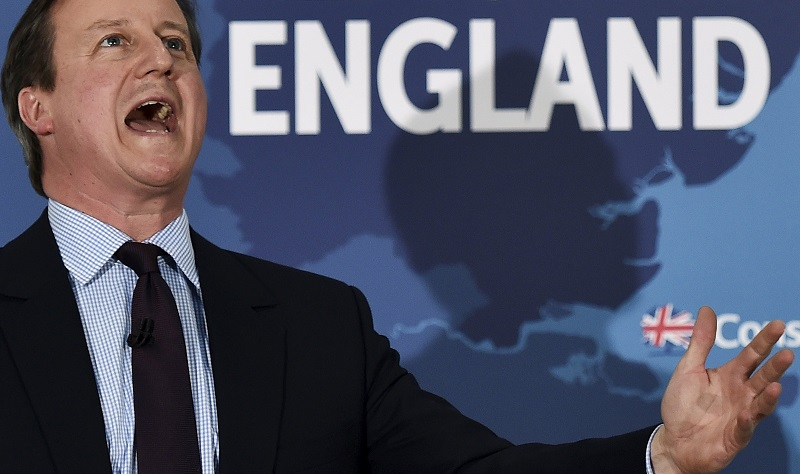 David Cameron scream