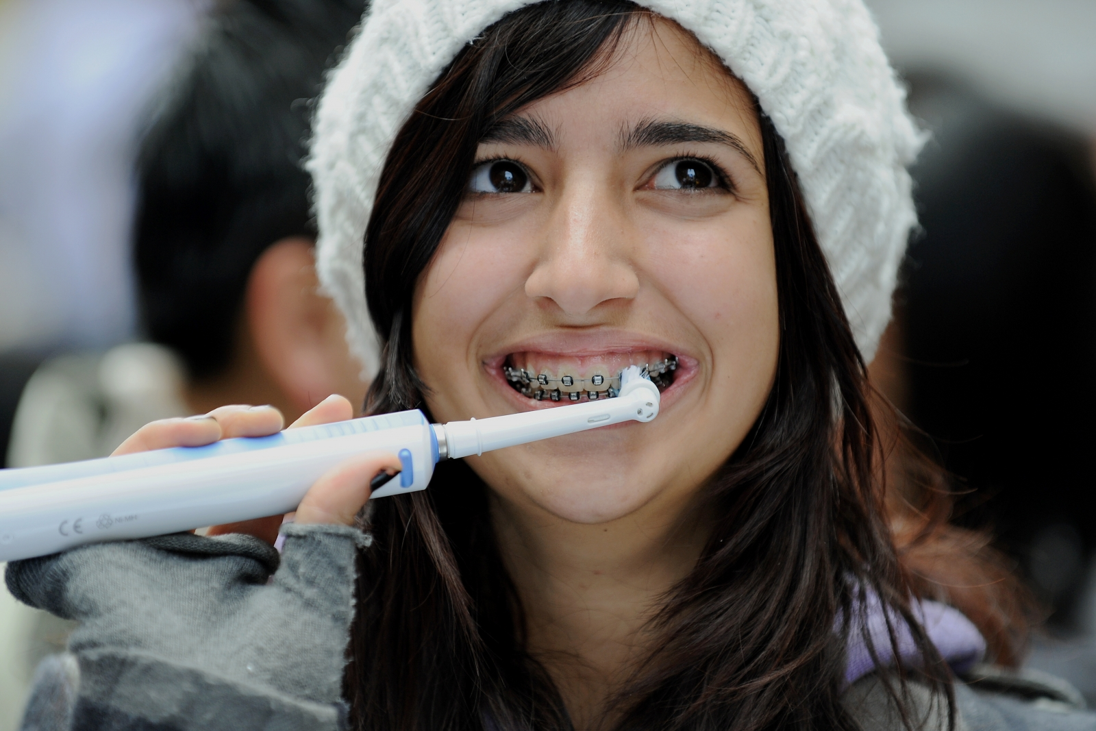 Toothbrush is DNA test