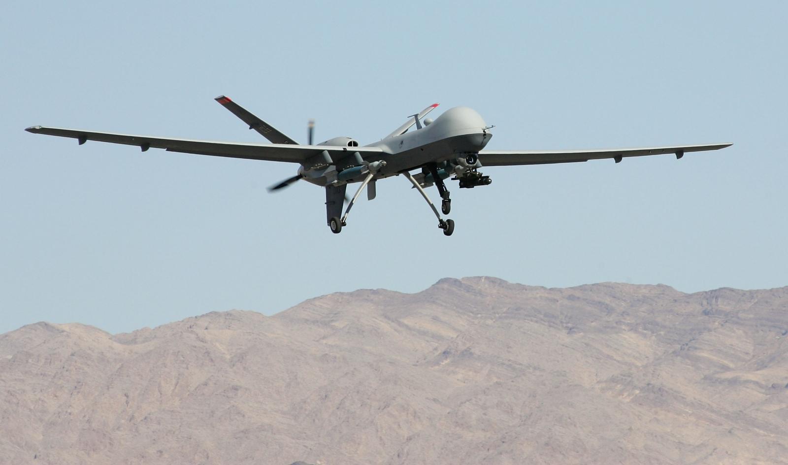 Drone attacks over 1000