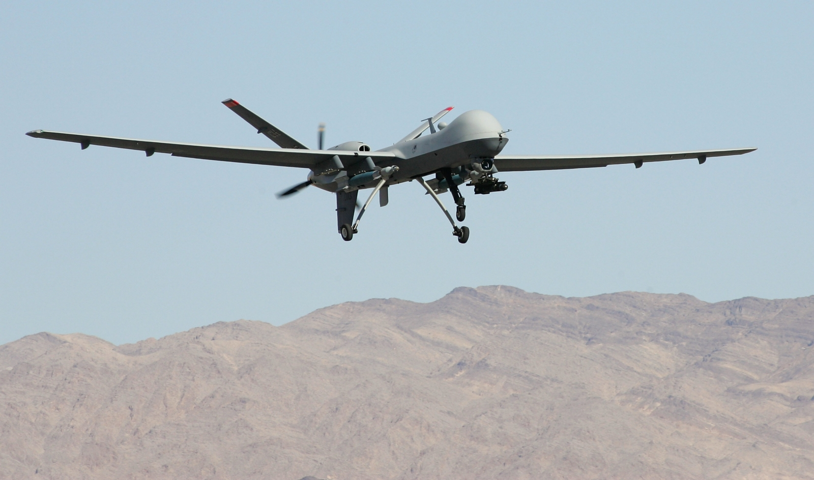 Drone attacks over 1000