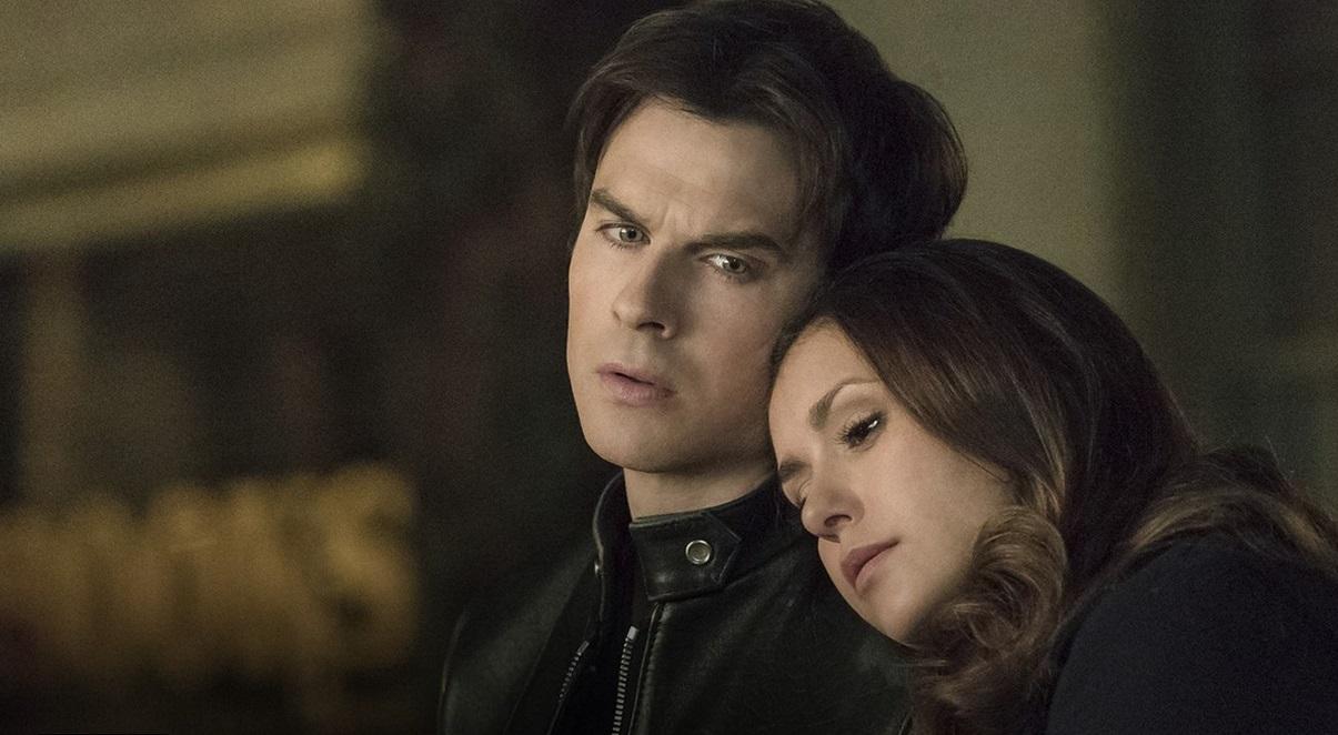 Vampire Diaries Season 6 Damon and Elena