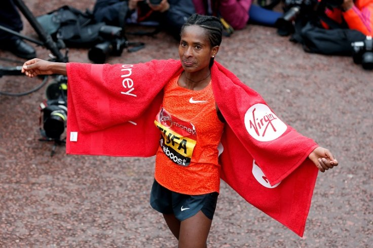 Tigist Tufa London Marathon 2015 winner