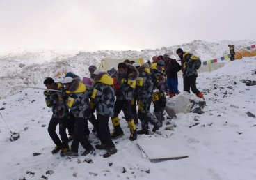 Nepal earthquake and Mount Everest avalanche