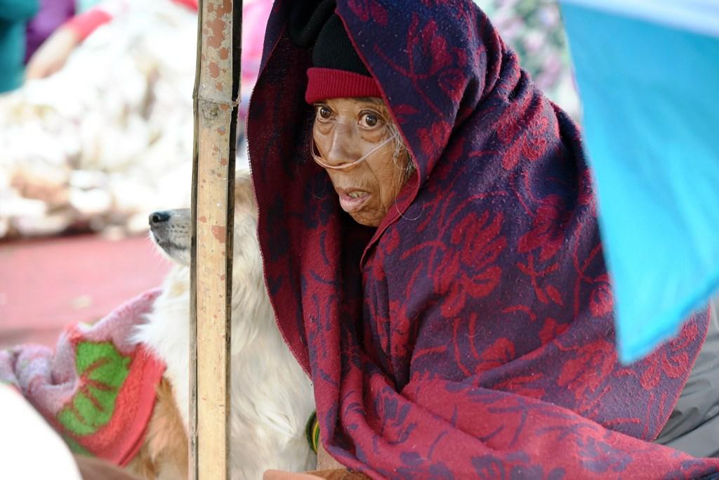 Nepal Earthquake Victim